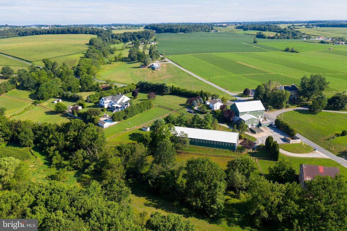 Farm for Sale at 1472 STEELVILLE Road Cochranville, Pennsylvania 19330 United States