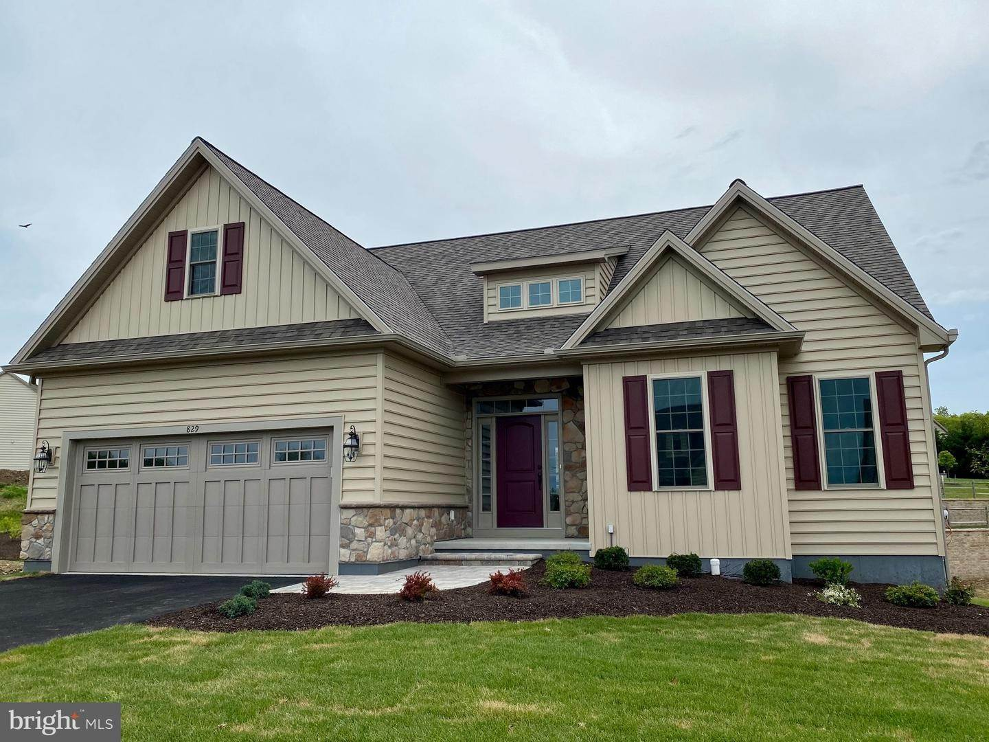 Residential for Sale at 829 SUMMER BREEZE PATH Cochranville, Pennsylvania 19330 United States