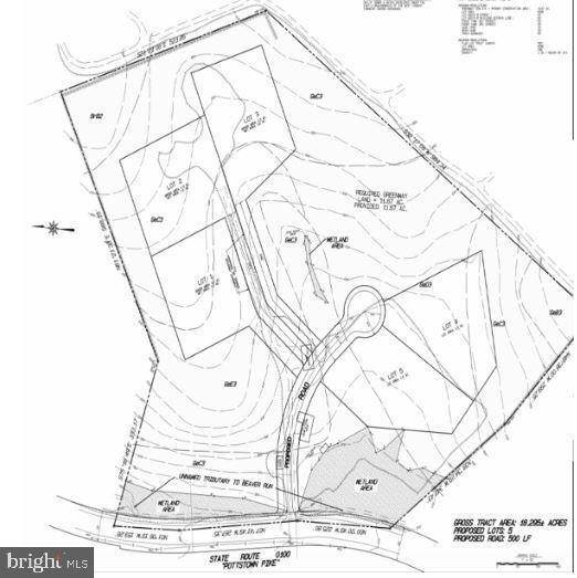 Land for Sale at 1550 POTTSTOWN PIKE Glenmoore, Pennsylvania 19343 United States