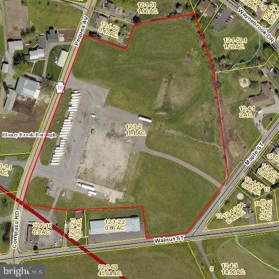Land for Sale at 450 PEQUEA Avenue Honey Brook, Pennsylvania 19344 United States